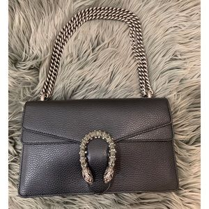 Gucci Dionysus Leather Small Shoulder Bag